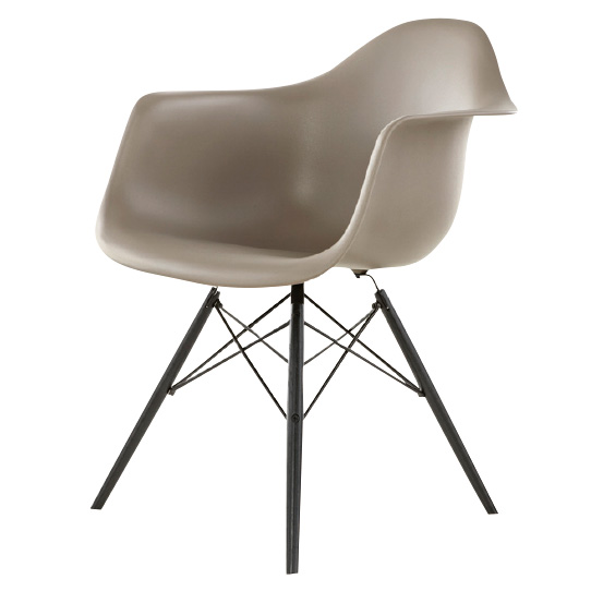 EAMES MOLDED PLASTIC ARMCHAIR DAW イームズシェルアームチェア